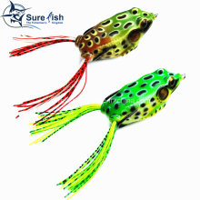 Vmc Hooks Soft Plastic Bait Hollow Body Frog Fishing Lure